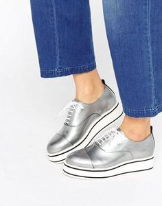 Bronx Eva Flatform Lace Up Shoes