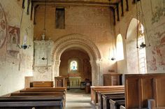 St Mary's Norman Church Kempley,Nave