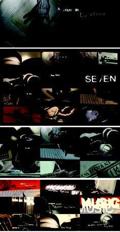 Kyle Cooper - Seven title sequence