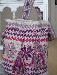Mochila Tapestry Häkeln, crochet  https://www.facebook.com/Dianas-Handarbeiten-514978628659708/