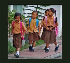 Kinderen in vrolijkheid