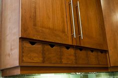 """Contemporary Kitchen Spacial Duality"" from ""Global Icons: The Apothecary Chest"" -- Shown: ""...the drawers were not originally part of the cabinet design, but were added as a place to store the many tea and coffee bins that would normally occupy space on the countertop."" -- I may wind up pinning everything from this wonderful post; I want them ALL, even though they're just card-catalog-like!"