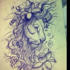 lion and lamb tattoos for women   88e9f7ef7c6699c328eb7ca4c364cb88