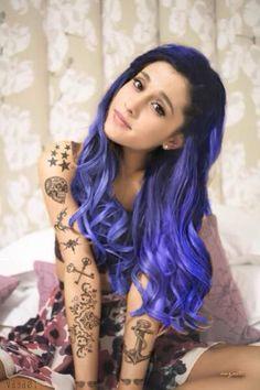 punk edit of Ariana Grande