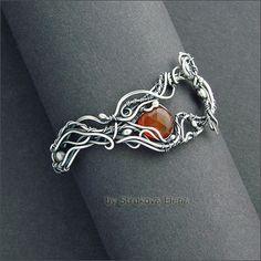 Strukova Elena - авторские украшения - браслет для Елены