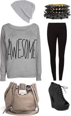 """Easy"" by ria-regelisa on Polyvore"