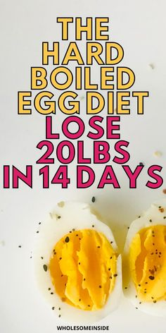 Find out how you can easily lose 20 lbs in just 2 weeks of time. The hard boiled egg diet will have you shedding the weight fast. Boiled Egg Diet, Boiled Eggs, Lose 20 Pounds, Hard Boiled, Lose Weight, Food, Deviled Eggs, Meals, Yemek