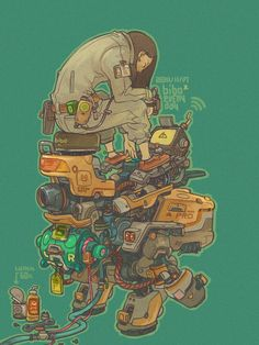 simple pic X4 by bibo X, via Behance