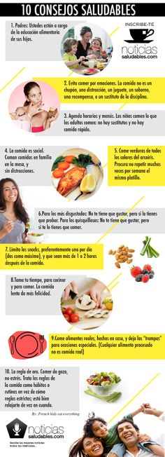 Infografía: 10 consejos saludables