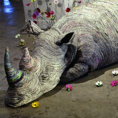Paper Trails by Chie Hitotsuyama  #tindio #artwork #Large_Scale #Installations