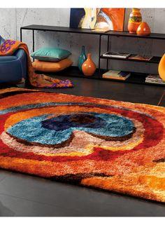 Tapis lounge SHAGGY FUNKY 4 multicolore de la collection Arte Espina