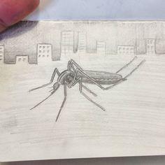 ( Pepet i Marieta - Agustí lo mosquitet) L'Agostí era un mosquitet que arribava a la ciutat la goteta de colònia les aletes ben a dalt i un somriure tafaner sóc d'ofici carnicer domés vull una miqueta del que vau perdre fa temps. #cançons #drawing #pencil #moleskine
