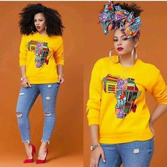 I really like womens african fashion Modern African Clothing, African Inspired Clothing, Latest African Fashion Dresses, African Print Pants, African Print Fashion, African Attire, African Dress, African Outfits, African Wear Styles For Men