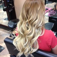 Beautiful Blonde Ombre Hair