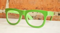 {lime green frames} funky!