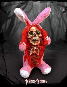 Easter Skull Art by Terror Teddies ☠️