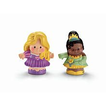 FisherPrice Little People Disney Princess Figures 2Pack  Rapunzel and Tiana