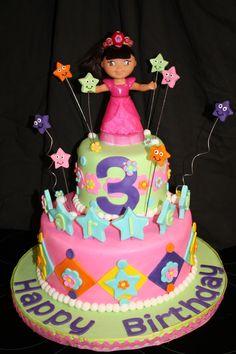 Admirable 201 Best Dora Cakes Images Dora Cake Cupcake Cakes Cake Birthday Cards Printable Benkemecafe Filternl