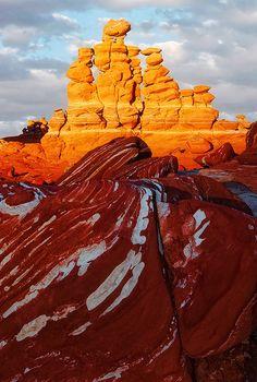 Hoodoos in Northeast Arizona; photo by John Mumaw