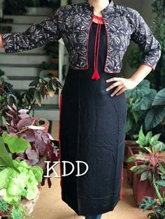 New stylish and trendy kurti neck designs - ArtsyCraftsyDad Churidar Neck Designs, Kurta Neck Design, Salwar Designs, Kurta Designs Women, Kurti Designs Party Wear, Blouse Designs, Neck Design For Kurtis, Stylish Kurtis Design, Kurti With Jacket