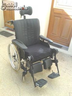 fauteuil roulant grand confort à bascule d�...