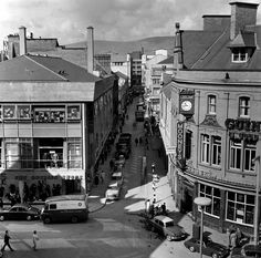 Castle Lane, from Arthur Square, Belfast From Old Belfast. Uk History, Belfast, Northern Ireland, Old Photos, Britain, Past, Times Square, Old Things, City