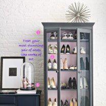 Repurpose furniture for clothing storage
