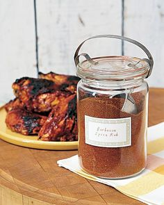 Barbecue Rub - When spices are applied as a rub, their flavors permeate the meat during cooking with an intensity that sauces can't match. Dredge raw meat in the barbecue rub one to three days before grilling.