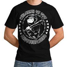 Wellcoda   Monkey Chimp Hood Bat Mens NEW Neighbour Black T-shirt XXXXL Wellcoda http://www.amazon.co.uk/dp/B00OYWMS8M/ref=cm_sw_r_pi_dp_yxpexb1J1EBDZ