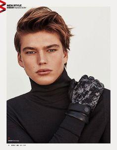 Jordan Barrett for Harper's Bazaar China by Shxpir