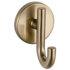 Delta Faucet D75935CZ Trinsic Robe Hook Bathroom Accessory - Champagne Bronze