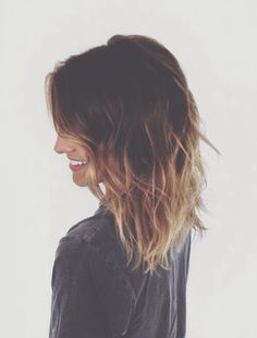 So doing my hair Ombré ♥