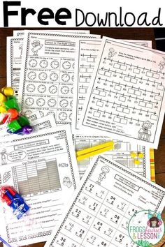 Free Download ! Includes: Count to 1,000, Add to 100, Subtract from 100, Place Value, Shapes, Fractions, Graphing, Telling Time, and Measurement! #mathpractice #mathpracticeonline