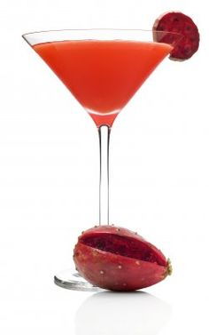 He's Into You  -- Passion fruit vodka, raspberry liqueur, and pineapple juice.