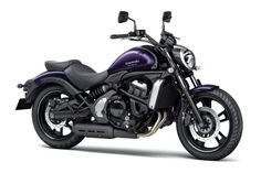kawasaki motorcycles | New 2015 Kawasaki Vulcan S purple