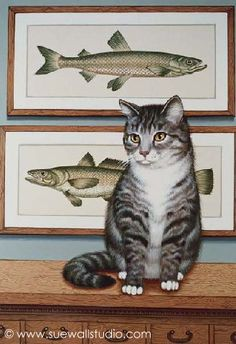 Sue Wall - Paying Homage to Fish