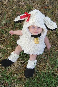 Is your baby uber sweet & lamb-like? Want to bring out their inner lamb for everyone to see? These adorable baby costumes are perfect for pint sized trick or treaters, their cute, charming. Christmas Costumes, Baby Halloween Costumes, Baby Costumes, Halloween Outfits, Lamb Costume, Happy Birthday Jesus, Childrens Christmas, Character Costumes, To My Daughter