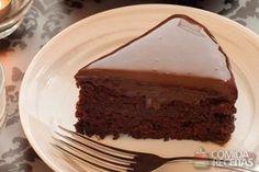 Receita de Torta gelada de chocolate fácil