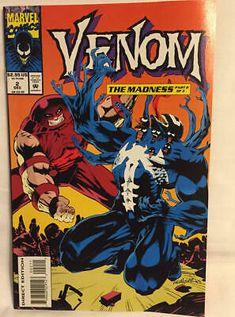 Marvel Comics Venom The Madness 1993 Series Vol 1 No 2 In Mint Condition 759606029143 Ebay In 2021 Comics Venom Comics Marvel Comics