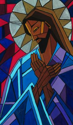 """Jesus Testifies to the Churches 12 """"And behold, I am coming… Catholic Art, Religious Art, Tableau Pop Art, Images Of Christ, Black Jesus, Jesus Painting, Prophetic Art, Church Banners, Jesus Art"""