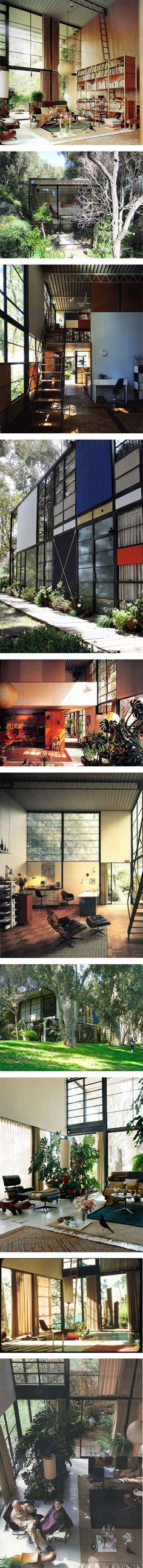 """Genius, nothing, we just worked harder"" – Charles Eames on Nuji … Charles Eames, Classic Architecture, Interior Architecture, Exterior Design, Interior And Exterior, Visualisation, Mid Century Modern Design, Bungalow, Mid-century Modern"