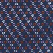 """Melody Miller Mustang - Daisies (Navy) Leap and the net will appear. Melody Miller's debut collection for Cotton + Steel  100% cotton, quilting weight, 44/45"""" wide"""