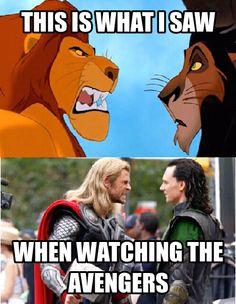 Memecrunch: The best meme generator |Lion King Loki And Thor