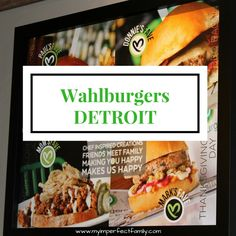 Wahlburgers Detroit Michigan - My Imperfect Family