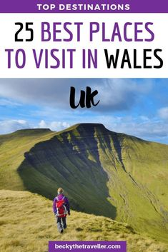 25 BEST Places To Visit In Wales On A Road Trip - Becky the Traveller Best places to visit in Wales. Here are some of the top destinations in Wales for the perfect road trip. Includes all the best things to see and do in Wales Backpacking Europe, Europe Travel Tips, European Travel, Travel Guides, Travel Uk, Travel Goals, Train Travel, Beautiful Places To Visit, Cool Places To Visit