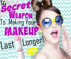 The Secret Weapon To Making Your Makeup Last Longer - #makeuptip #makeup #lastingmakeup #beautytip #beautysecret #barbiesbeautybits - bellashoot iPhone & iPad app, bellashoot.com