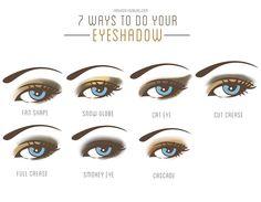 7 Wege AMUs zu schminken. Sehr informativ.