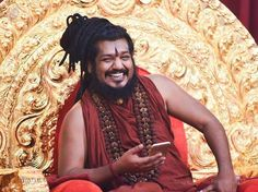 Paramahamsa Nithyananda, who has the ability to open the third eye of millions of people. Catch him on Youtube