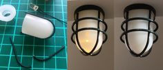 how to: industrial style miniature lamp