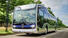 Mercedes-Benz has created a self-driving city bus. The bus uses Mercedes' latest autonomous driving system called CityPilot. The Future Bus successfully followed a 20km Bus Rapid Transit rout…